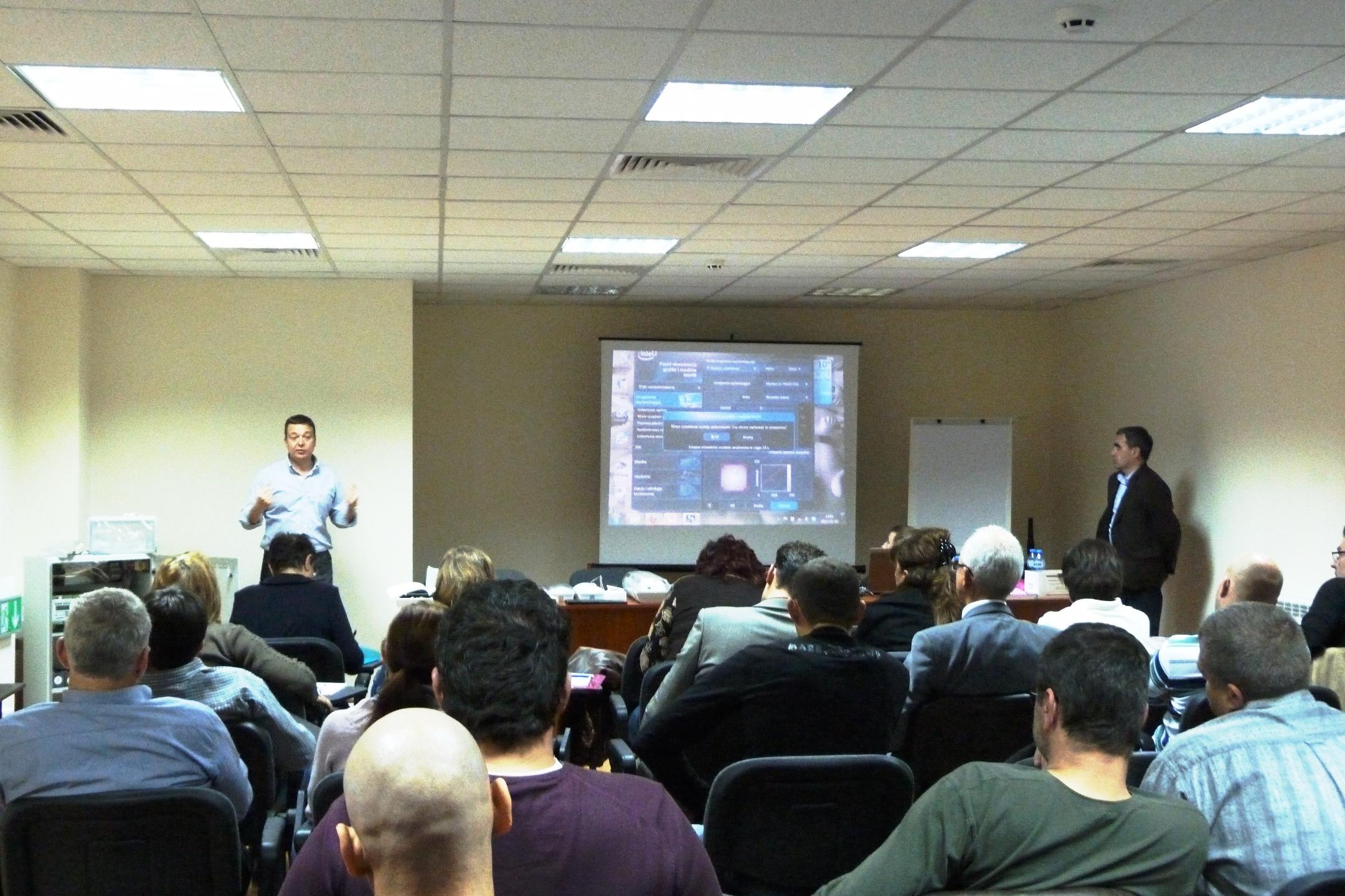 Дискусия по време на семинара